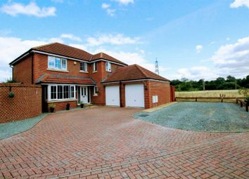 Thumbnail 4 bed detached house for sale in Caspian Close, Moulden View, Swindon