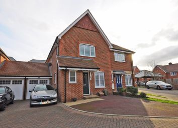Thumbnail 3 bed semi-detached house for sale in Akehurst Close, Hellingly, Hailsham