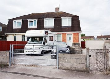 Thumbnail 3 bed semi-detached house for sale in Heol Llan, North Cornelly, Bridgend