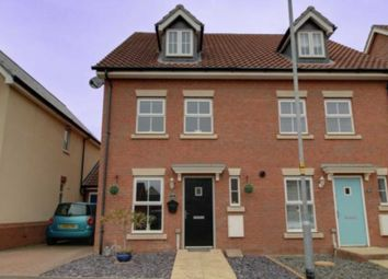 Thumbnail 3 bed semi-detached house for sale in Bittern Road, Queens Hill, Costessey