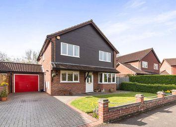 Thumbnail 4 bedroom detached house for sale in Hartswood, Chineham, Basingstoke