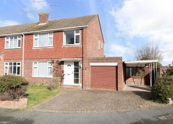 Thumbnail 3 bed semi-detached house for sale in Robert Close, Hersham, Walton-On-Thames