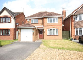 Thumbnail 4 bed detached house for sale in Pegasus Way, Hilton, Derby