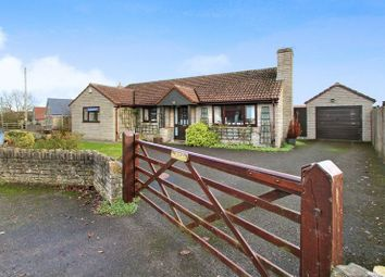 Thumbnail 3 bed detached bungalow for sale in Mill Road, Barton St. David, Somerton