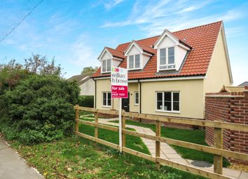 Thumbnail 3 bedroom chalet for sale in Mildenhall Road, West Row, Bury St. Edmunds
