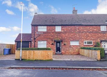 Thumbnail 3 bed semi-detached house for sale in Queen Street, Lynemouth, Morpeth