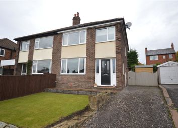 Thumbnail 3 bed semi-detached house for sale in Lyndale Drive, Wrenthorpe, Wakefield