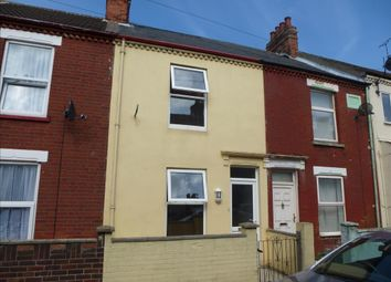 Thumbnail 2 bedroom terraced house to rent in Century Road, Great Yarmouth