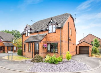 Thumbnail 2 bedroom semi-detached house for sale in Abbey Close, Rocester, Uttoxeter
