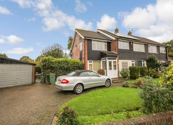 Thumbnail 3 bed semi-detached house to rent in Bostock Avenue, Horsham, West Sussex