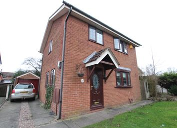 Thumbnail 3 bed detached house to rent in Dundee Close, Fearnhead, Warrington