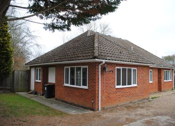 Thumbnail 5 bedroom detached bungalow to rent in Rye Common Lane, Crondall, Farnham