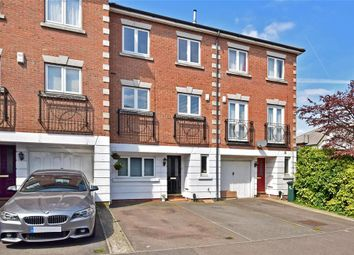 Thumbnail 4 bed town house for sale in Beverley Mews, Three Bridges, Crawley, West Sussex