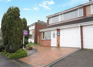 Thumbnail 3 bedroom semi-detached house for sale in Westminster Close, Dudley