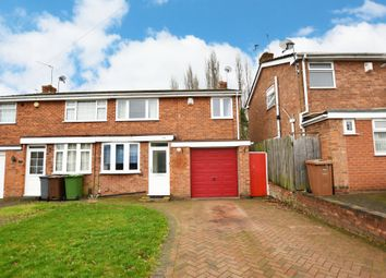 Thumbnail 3 bed semi-detached house for sale in Langley Hall Road, Solihull