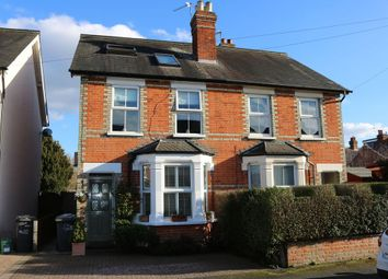 Thumbnail 3 bed semi-detached house for sale in Clarence Street, Egham