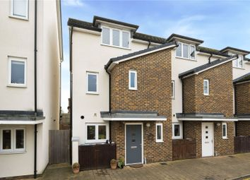 Pyle Close, Addlestone, Surrey KT15. 3 bed end terrace house for sale