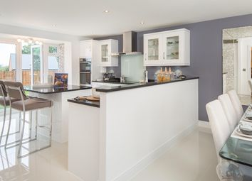 "Thumbnail 5 bed detached house for sale in ""Moorecroft"" at Wookey Hole Road, Wells"