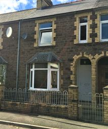 Thumbnail 2 bedroom terraced house to rent in Ross Road, Abergavenny
