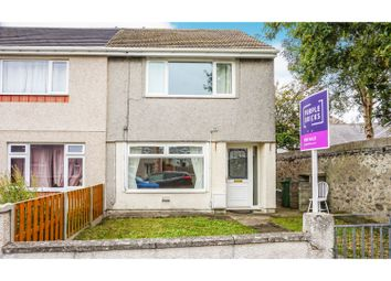 Thumbnail 2 bed end terrace house for sale in Tan Y Bryn, Holyhead
