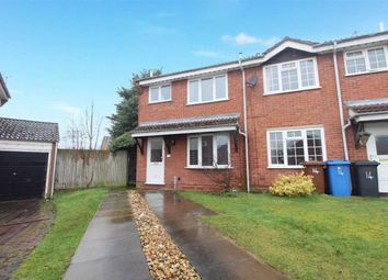 Thumbnail 3 bedroom semi-detached house for sale in Swatchway Close, Ipswich