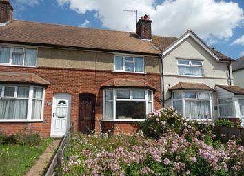 Thumbnail Terraced house for sale in Mayflower Avenue, Harwich