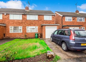 Thumbnail 3 bed semi-detached house for sale in Sandringham Avenue, Willenhall