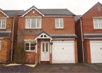 Thumbnail 3 bed detached house for sale in Fremantle Drive, Cannock