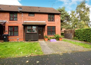 Thumbnail 1 bed end terrace house for sale in Tolvaddon Close, Woking, Surrey