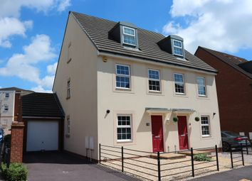 Thumbnail 3 bed town house for sale in Normandy Drive, Yate, Bristol