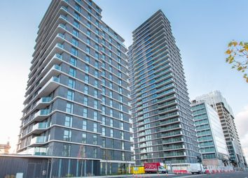 Thumbnail 2 bed flat to rent in Glasshouse Gardens, Cassia Point, Stratford, London