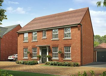 "Thumbnail 4 bed detached house for sale in ""Chelworth"" at Station Road, Grove, Wantage"