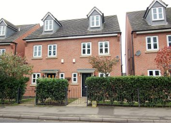 Thumbnail 3 bed semi-detached house for sale in Loughborough Road, Nottingham