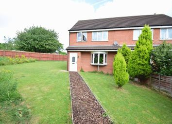Thumbnail 3 bed semi-detached house for sale in Cumberland Terrace, Brookenby, Binbrook, Market Rasen