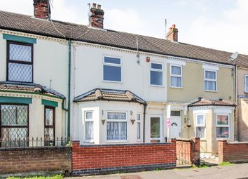 Thumbnail 3 bed terraced house for sale in Mill Road, Great Yarmouth