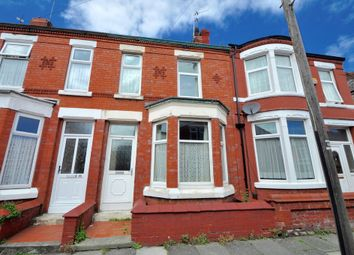 Thumbnail 3 bed terraced house for sale in Evelyn Road, Wallasey