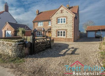 Thumbnail 5 bed detached house for sale in Chapel Road, Trunch, North Walsham