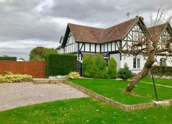 Thumbnail 3 bed semi-detached house to rent in The Green, Rous Lench, Evesham