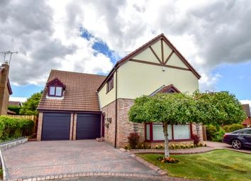 Thumbnail 5 bed detached house for sale in Sefton Court, Cramlington, Northumberland