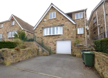 Thumbnail 4 bed detached house for sale in Mansion Gardens, Huddersfield