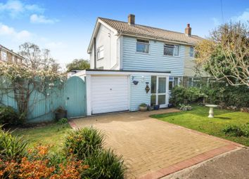 Thumbnail 3 bed semi-detached house for sale in Forge Lane, Canterbury