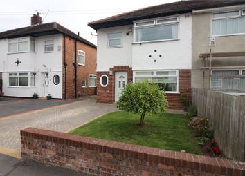 Thumbnail 3 bed semi-detached house for sale in Durley Drive, Prenton, Merseyside