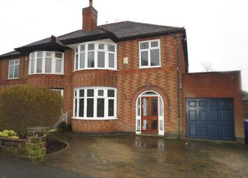 Thumbnail 3 bed semi-detached house for sale in Arlington Road, New Normanton, Derby