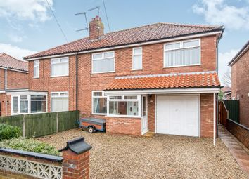 Thumbnail 4 bed semi-detached house for sale in Blenheim Crescent, Sprowston, Norwich