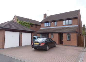 Thumbnail 4 bed detached house for sale in Ayrshire Way, Congleton Cheshire
