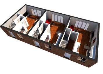Thumbnail 2 bed end terrace house for sale in Chalkpit Hill, Chatham, Kent