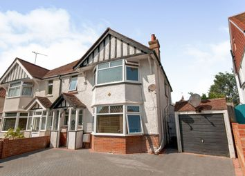Thumbnail 4 bed semi-detached house for sale in Fitzmaurice Avenue, Eastbourne
