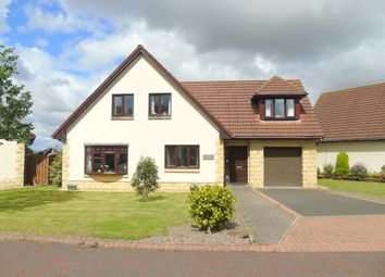 Thumbnail 4 bed detached house for sale in Grangewood, Stobswood, Morpeth