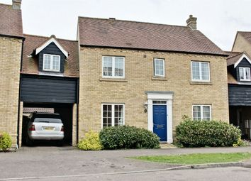 Thumbnail 4 bedroom link-detached house for sale in Woodfield Lane, Lower Cambourne, Cambourne, Cambridge