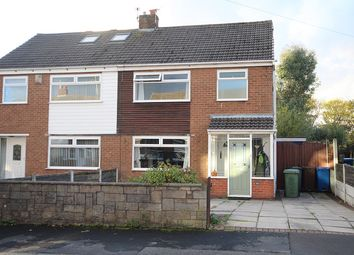 Thumbnail 3 bed semi-detached house for sale in Leacroft, Ashton-In-Makerfield, Wigan